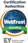 WebTrust for Baseline Requirements